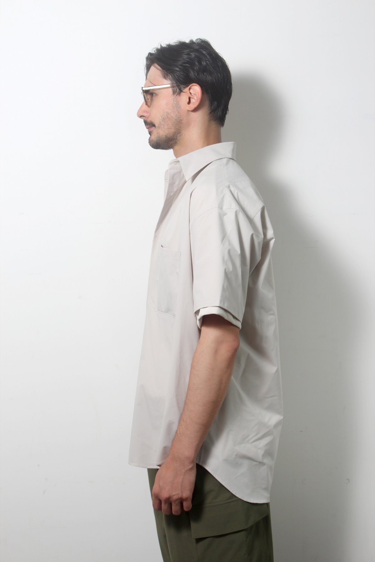 S/S Over size SHIRTS(SOLOTEX) 詳細画像7