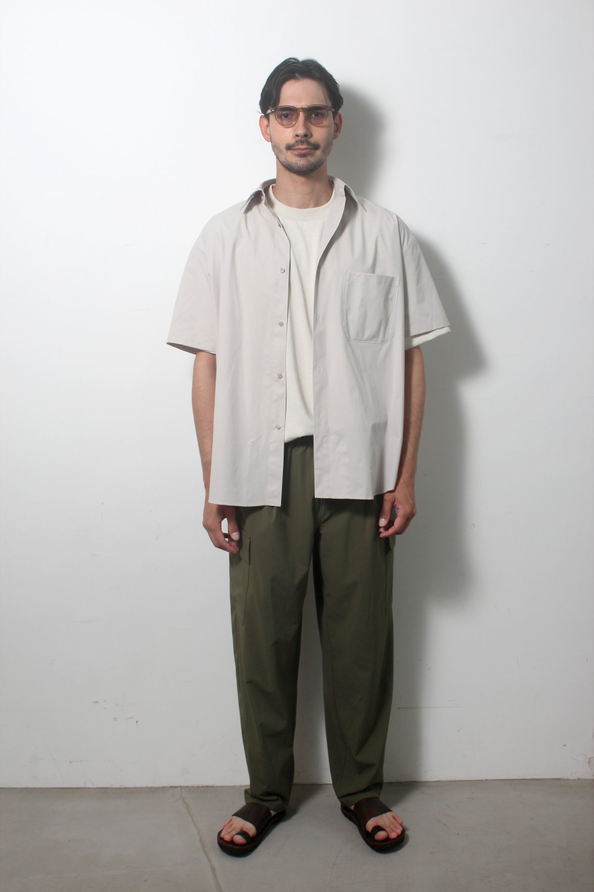 S/S Over size SHIRTS(SOLOTEX) 詳細画像9