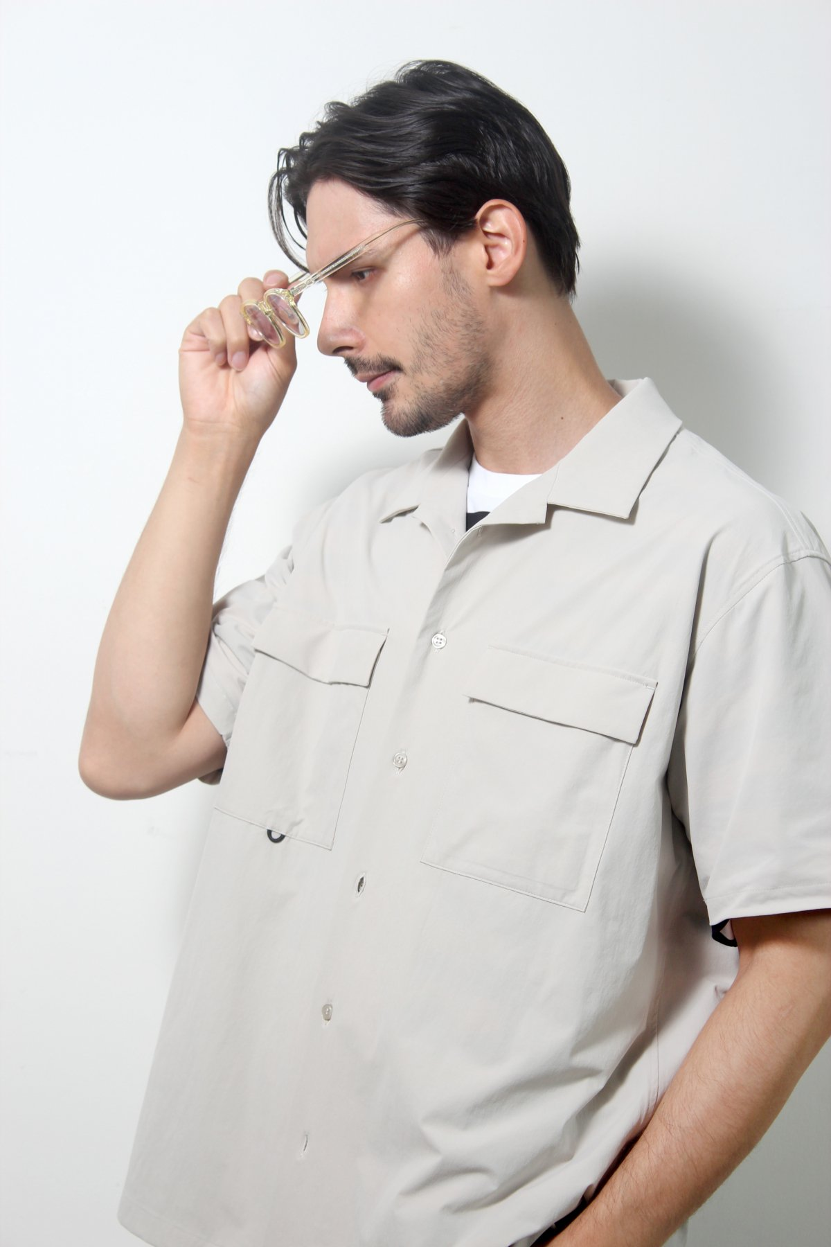 S/S W Pocket Shirts 詳細画像8