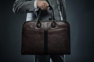 【イヴォーク・ビジネス】EVOKE Brief Case Chocolate Brown