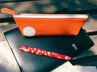 【ミンディ ペンケース】mindy Pencase Orange