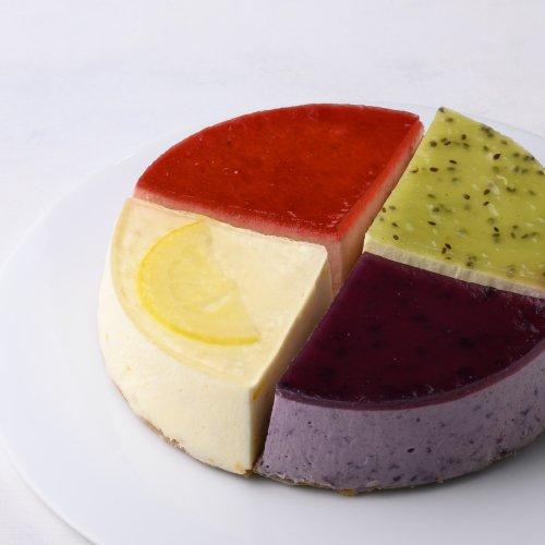 ホールチーズケーキ プレミアムレアチーズアソート