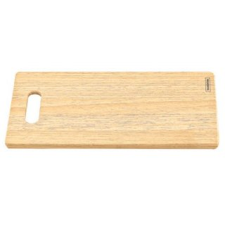 木製(タウアリ) 穴開きカッティングボード 35cm×19cm DELICATE