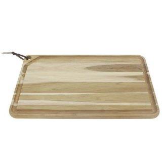木製(チーク) 特大カッティングボード 溝 60cm×36cm CHURRASCO