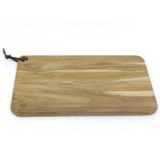 木製(チーク) カッティングボード 49cm×28cm CHURRASCO