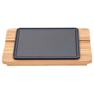 シュラスコ 角ステーキ鉄板セット