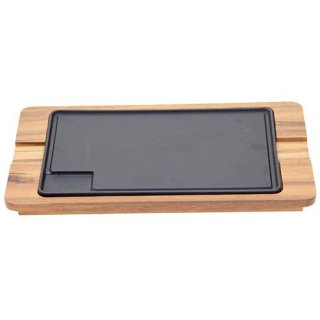 シュラスコ 角大ステーキ鉄板セット