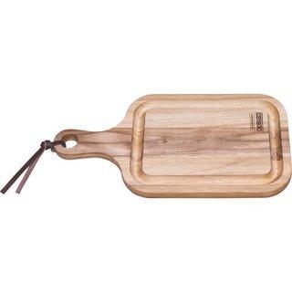 木製(チーク) 手付ボード溝 400×210×18 CHURRASCO
