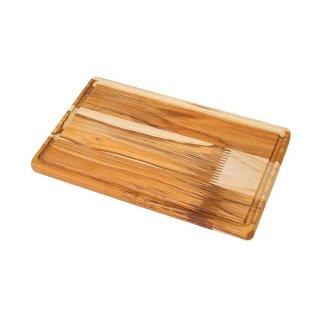 アドバンス 抗菌木製まな板 M リバーシブル 33×20cm