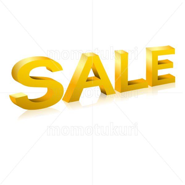 SALE sale セール  立体 3D  ゴールド 金
