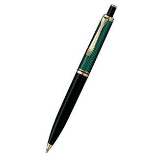 ペリカン ボールペン スーベレーン 緑縞 K400