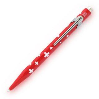 カランダッシュ ボールペン 849 ポップライン トータリースイス 缶ケース入り スイスフラッグ NF0849−053