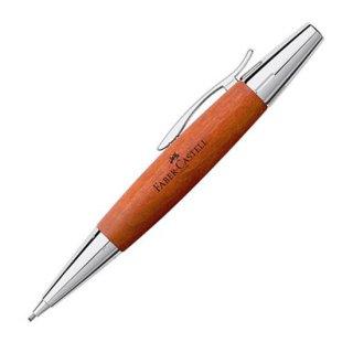 ファーバーカステル ペンシル 1.4mm エモーション ウッド&クローム 梨の木 ブラウン 138382