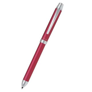 パイロット 複合筆記具(ボールペン黒0.7mm・赤・青)リッジ ピンク BKTR−3SR−P