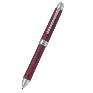 パイロット 複合筆記具(ボールペン黒0.7mm・赤・青)レグノ ディープレッド BKTL−3SK−DR