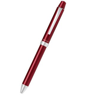パイロット 複合筆記具(ボールペン黒0.7mm・赤・青・シャープ0.5mm)スリープラスワンリッジ ボルドー BTHRT5SR−BO