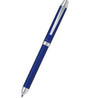 パイロット 複合筆記具(ボールペン黒0.7mm・赤・シャープ0.5mm)ツープラスワンリッジ ブルー BTHR−3SR−L
