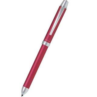 パイロット 複合筆記具(ボールペン黒0.7mm・赤・シャープ0.5mm)ツープラスワンリッジ ピンク BTHR−3SR−P