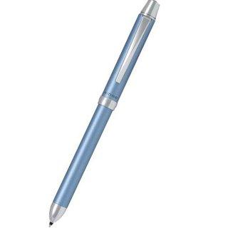 パイロット 複合筆記具(ボールペン黒0.7mm・赤・シャープ0.5mm)ツープラスワンリッジ ライトブルー BTHR−3SR−LB