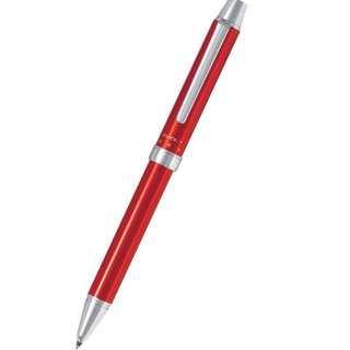 パイロット 複合筆記具(ボールペン黒0.7mm・赤・シャープ0.5mm)ツープラスワン エボルト レッド BTHE−1SR−R