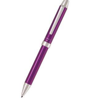 パイロット 複合筆記具(ボールペン黒0.7mm・赤・シャープ0.5mm)ツープラスワン エボルト バイオレット BTHE−1SR−V
