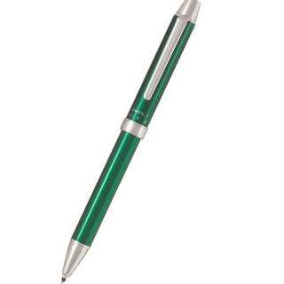 パイロット 複合筆記具(ボールペン黒0.7mm・赤・シャープ0.5mm)ツープラスワン エボルト グリーン BTHE−1SR−G