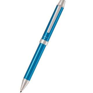 パイロット 複合筆記具(ボールペン黒0.7mm・赤・シャープ0.5mm)ツープラスワン エボルト ライトブルー BTHE−1SR−LB