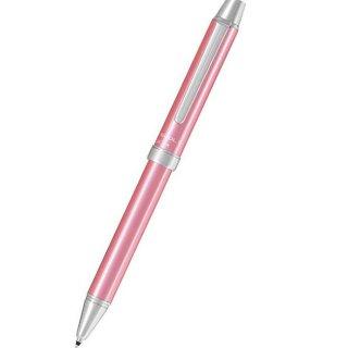 パイロット 複合筆記具(ボールペン黒0.7mm・赤・シャープ0.5mm)ツープラスワン エボルト ピンク BTHE−1SR−P