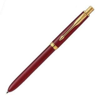 パーカー 複合筆記具(ボールペン黒・赤・シャープ0.5mm)ソネット オリジナル マルチファンクション レッドGT S111306220