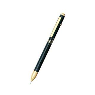 プラチナ万年筆 複合筆記具(ボールペン黒・赤・シャープ0.5mm)ダブル3アクション ブラックマーブル MWB−2000C