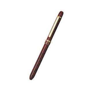 プラチナ万年筆 複合筆記具(ボールペン黒・赤・シャープ0.5mm)ダブルアクション R3 レッドマーブル MWBS−2000
