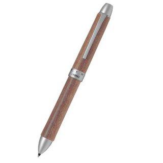 パイロット 複合筆記具(ボールペン黒0.7mm・赤・シャープ0.5mm)ツープラスワンレグノメイプル モクメ BTHL−5SK−M