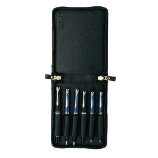 ペリカン ペンケース ジッパー 6本用  TGX−6 ブラック