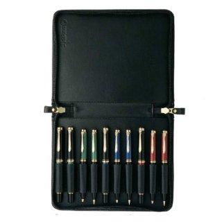 ペリカン ペンケース ジッパー 10本用  TGX−10 ブラック