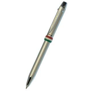 【即納対応商品】 オロビアンコ 複合筆記具(ボールペン黒・赤・シャープ0.5mm)トリプロ アルジェント 1951204