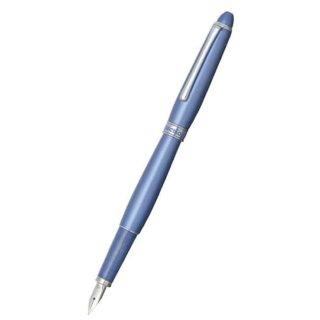 プラチナ万年筆 万年筆 アフェクション メタリックブルー PAF−5000