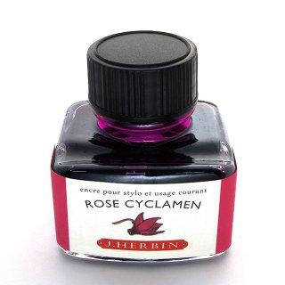 エルバン ボトルインク トラディショナルインク 30ml ROSE CYCLAMEN /シクラメンレッド 13066