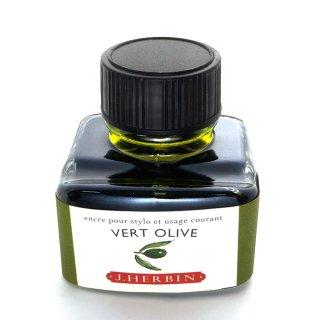 エルバン ボトルインク トラディショナルインク 30ml VERT OLIVE /オリーブグリーン 13036