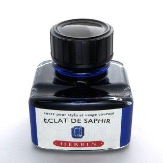 エルバン ボトルインク トラディショナルインク 30ml ECLAT DE SAPHIR /サファイアブルー 13016