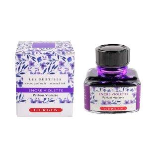 エルバン ボトルインク 香りつきインク 30ml Violette/ヴァイオレットパープル 13777