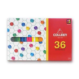 コーリン鉛筆 色えんぴつ 775六角 36色セット 775-36