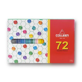コーリン鉛筆 色えんぴつ 775六角 72色セット 775-72