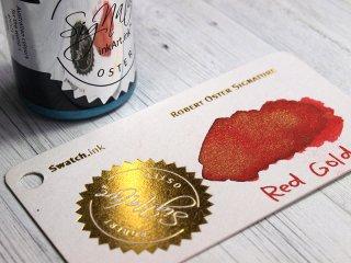 ロバートオスター ボトルインク シェイク アンド シミ— レッド ゴールド RO-15552