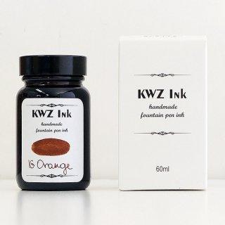 KWZ カウゼット 没食子 ボトルインク レジストラーズインク IGオレンジ 1302