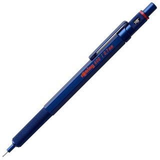 ロットリング メカニカルペンシル 0.7mm 600シリーズ アイアンブルー 2119974