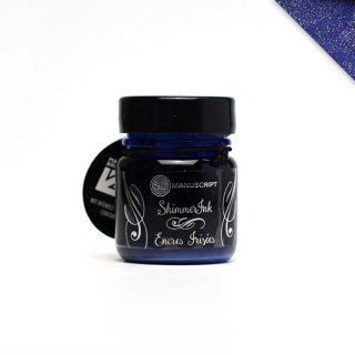 マニスクリプト ペンカンパニー ボトルインク コズミックブルー MDP503 シマーリングインク