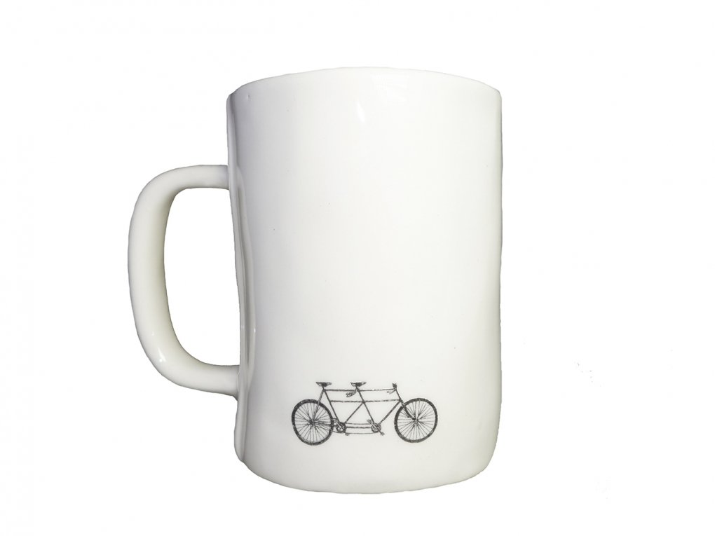 【RAE DUNN(レイ・ダン)】Bike Mug (BREATHE)