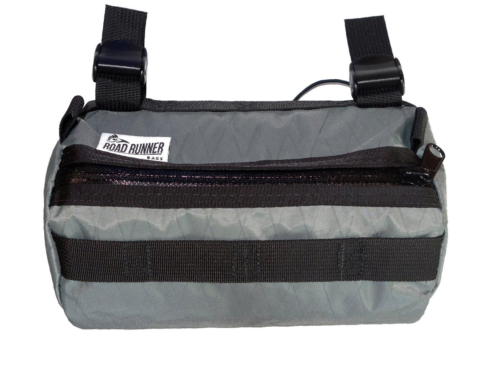 【 ROAD RUNNER BAGS 】Burrito Supreme Handlebar Bag (X-PAC GREY)