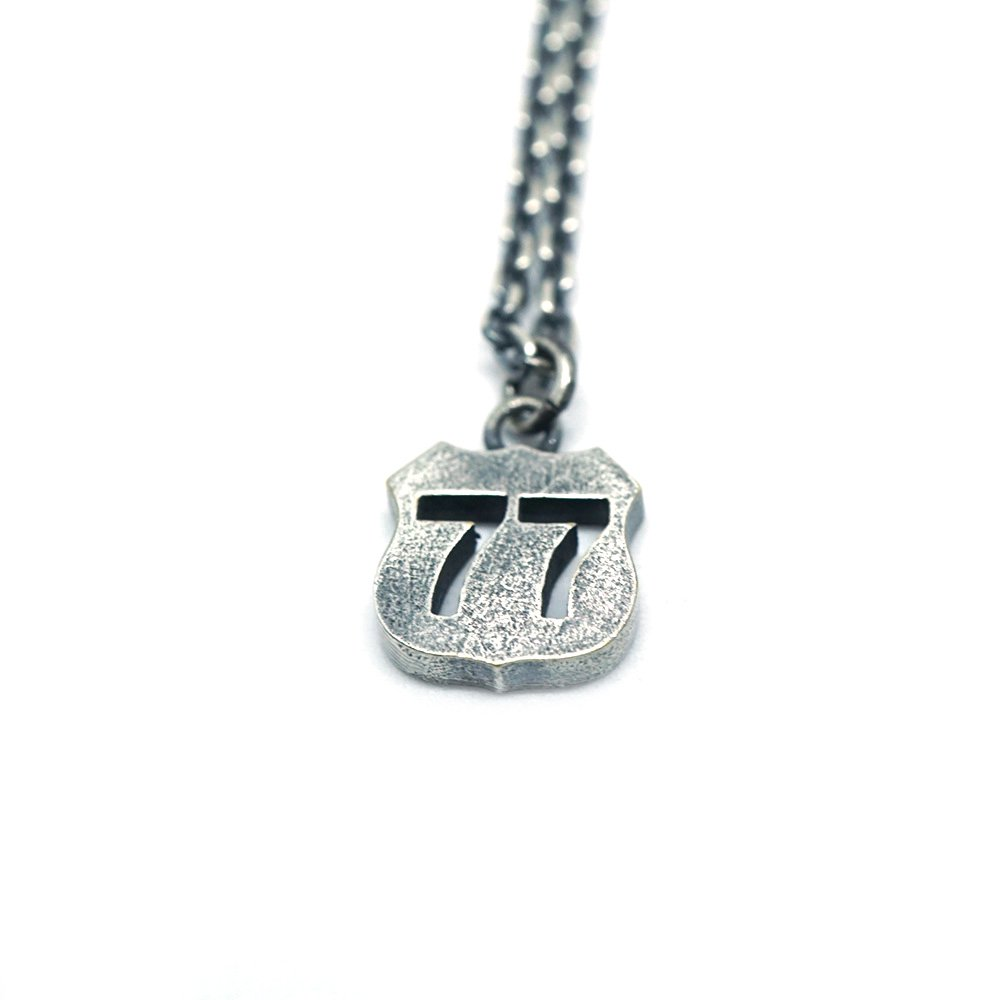 【 VARDE77 x THEFT 】ARMY ROAD NECKLACE