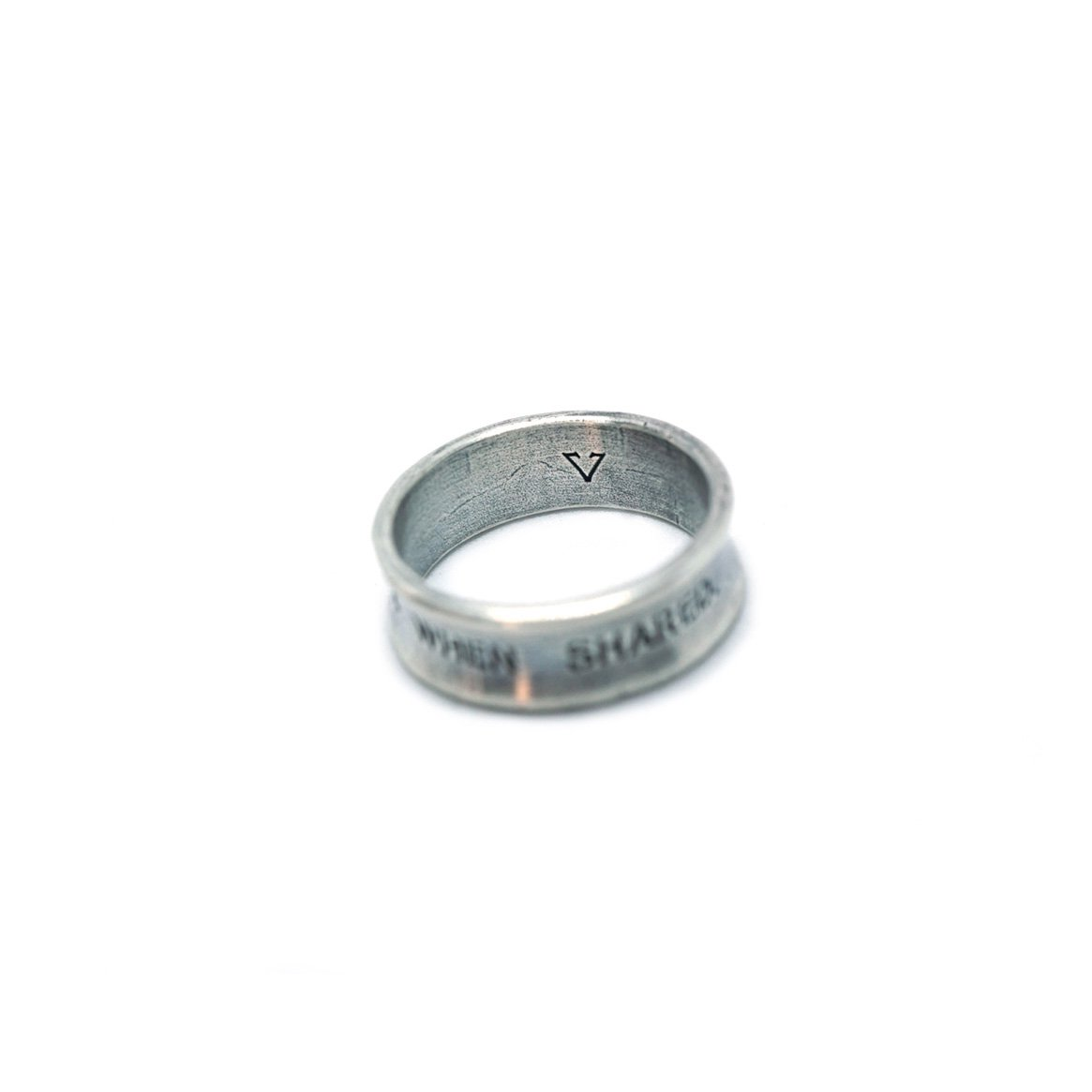 【 VARDE77 x THEFT 】HAPINESS RING SILVER